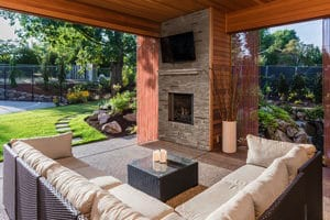Turn your backyard or patio into a destination with custom A/V solutions.