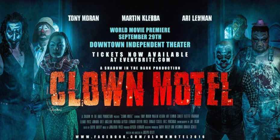 """""""Clown Motel"""" Red Carpet World Premier September 29th, 2018"""