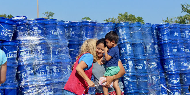 Lowe's Aid Relief Event
