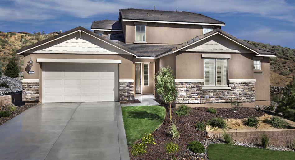 Few single-family homes remaining at this premier community in Northern Nevada