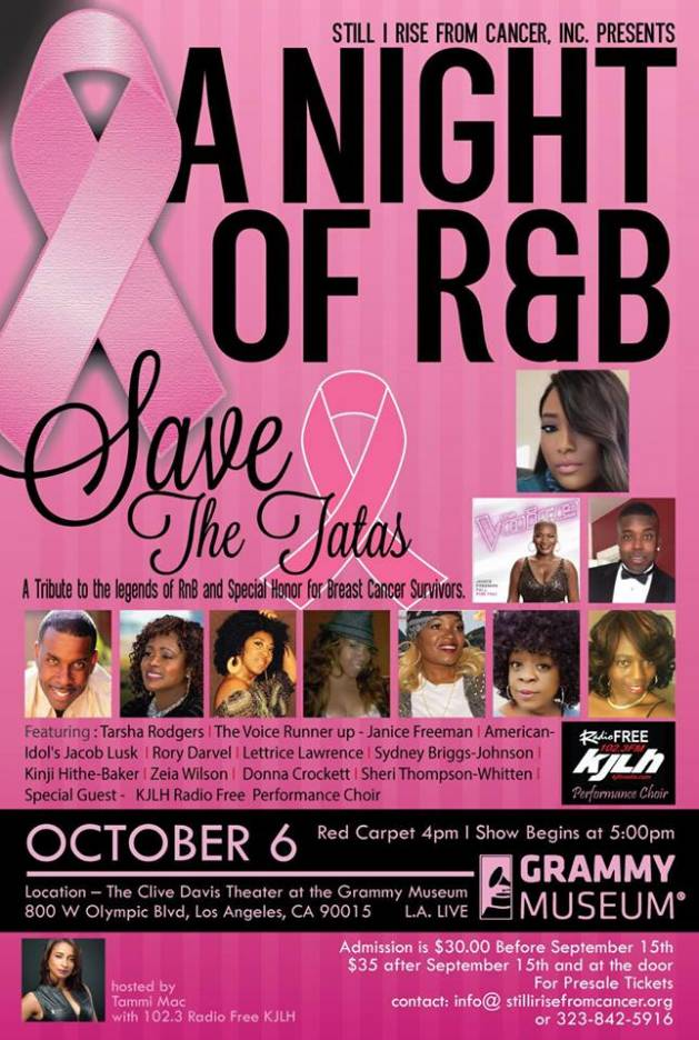 Save The Tatas, KimiRhochelle Entertainment Publicist at KRPR Media