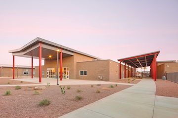 Saguaro Elementary and Casa Grande Middle School campus