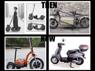 collage SCOOTER