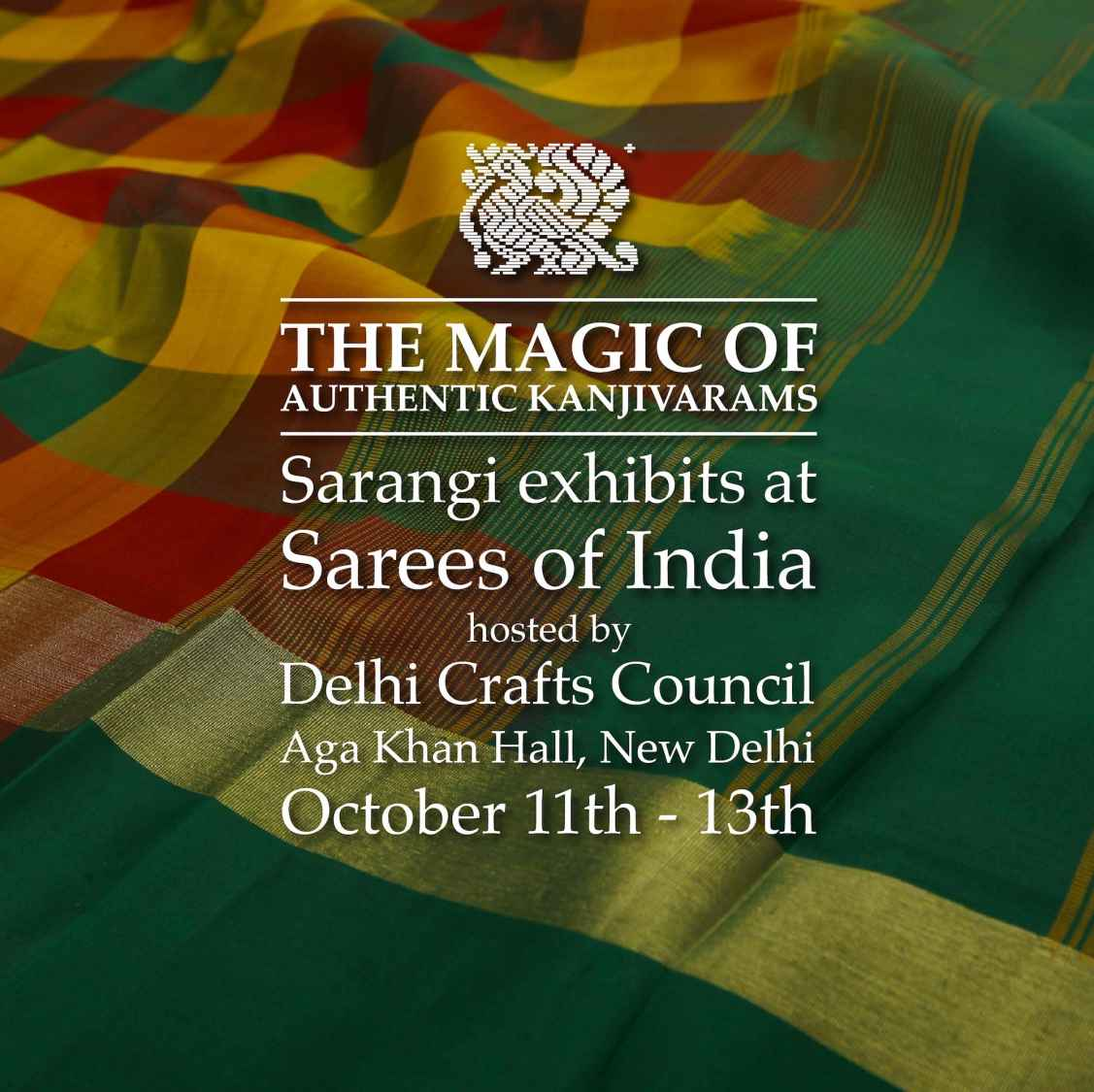 Kanjivaram Silk Saree Exhibition in Delhi | Sarees of India 2018