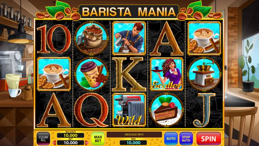 "Online slot game for SALE - ""Barista Mania"""