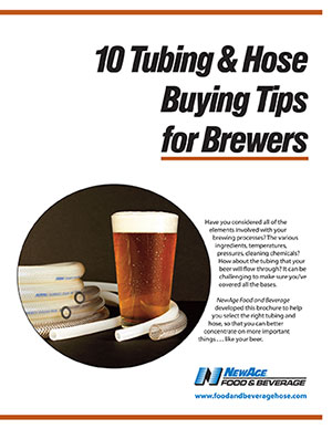 New Brochure: 10 Tubing Tips for Brewers