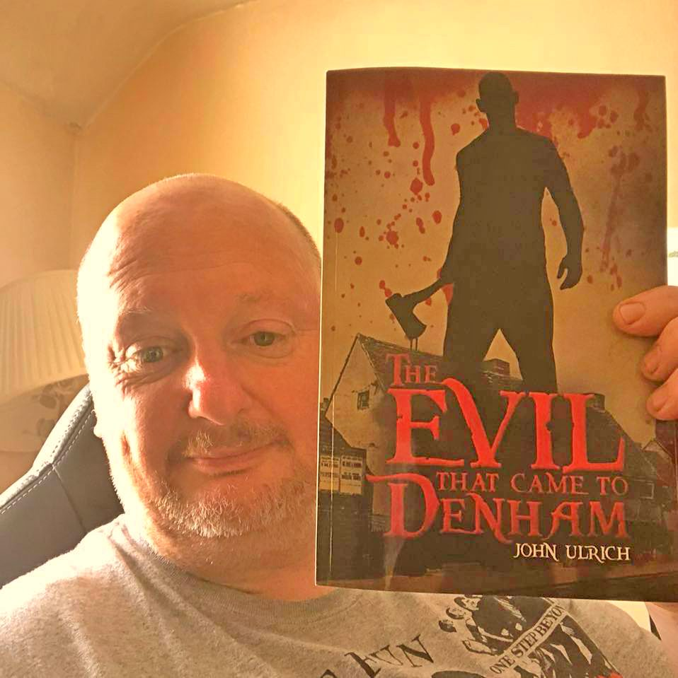 Author John Ulrich, The Evil That Came To Denham Book Launch