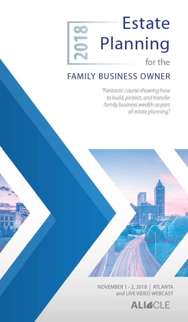 Estate Planning for Family Business Owners 9.28.20