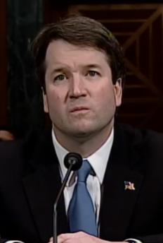 Judge Kavanaugh at Previous Hearing (public domain)