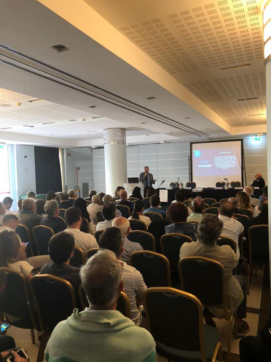 GDPR a Matera - Talk di Vito Santarcangelo iInformatica