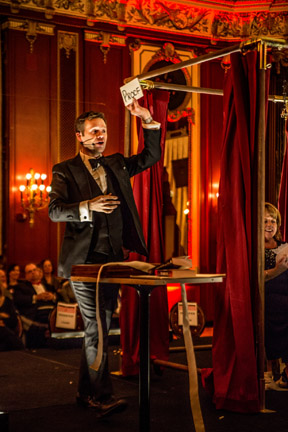 Master magician and mentalist Dennis Watkins to perform. Credit:Cole Simon