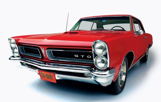 The Grand Prize in the GTO Dream Giveaway is this rare 1965 Pontiac GTO.