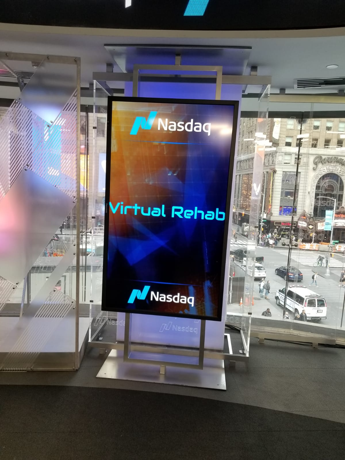 Virtual Rehab at NASDAQ