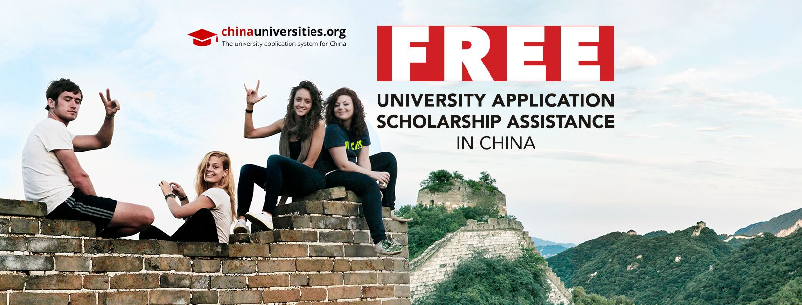 Free Application and Scholarship Assistance in China - ChinaUniversities.org