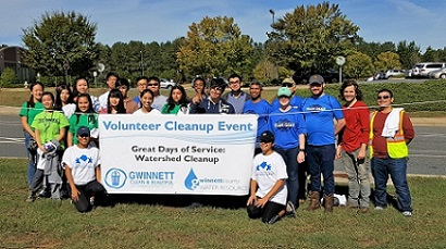 More than 130 GCB Volunteers took part in Great Days of Service 2017
