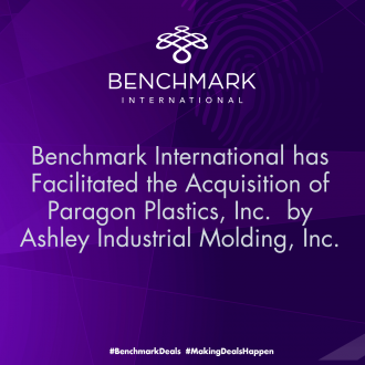 Benchmark International has successfully facilitated the acquisition of Paragon