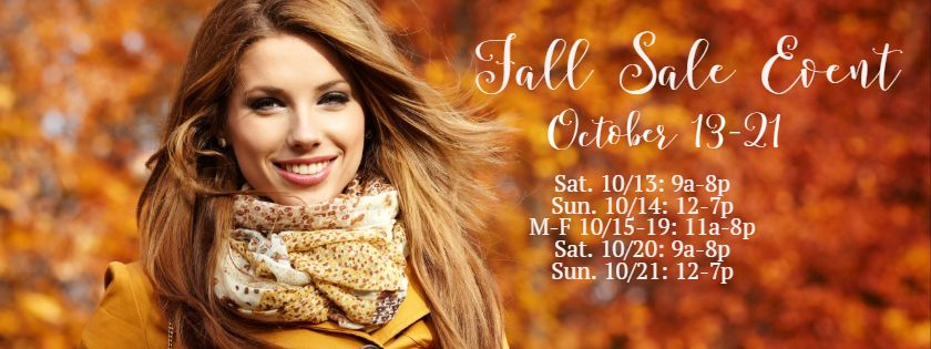 CWS Fall Sale Event
