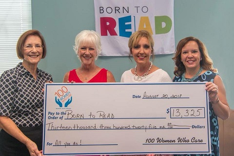 Born to Read, Inc. see release for photo caption
