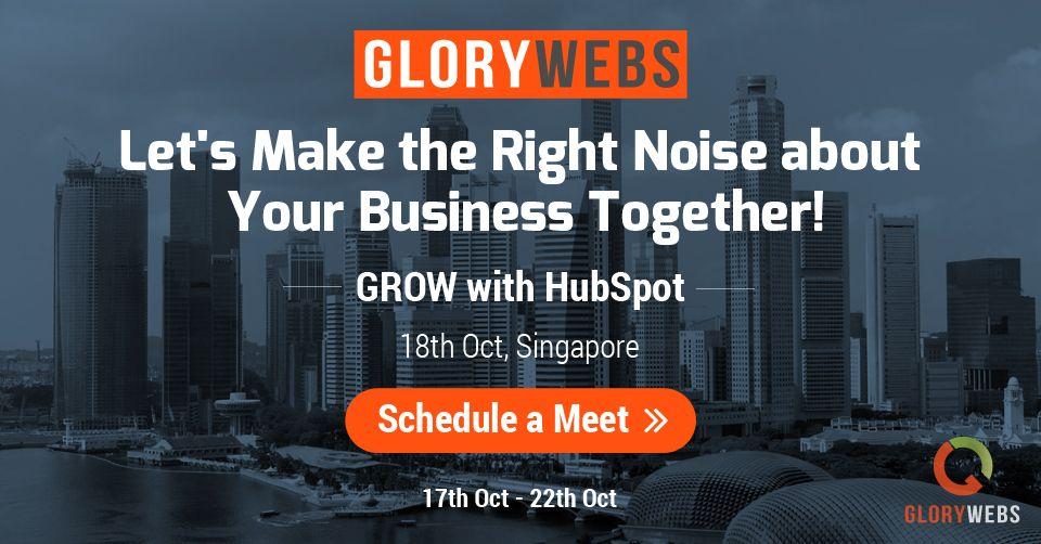 Meet GloryWebs CEO in Singapore