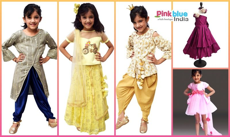 Kids Diwali Clothes
