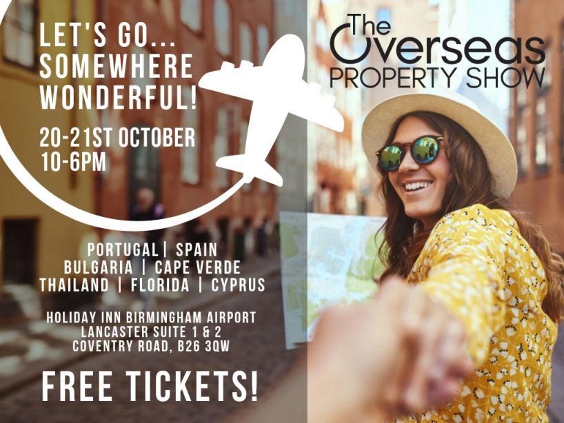 The Overseas Property Show - Birmingham!
