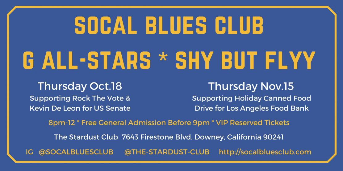 SoCal Blues Club |  http://SocalBluesClub.com