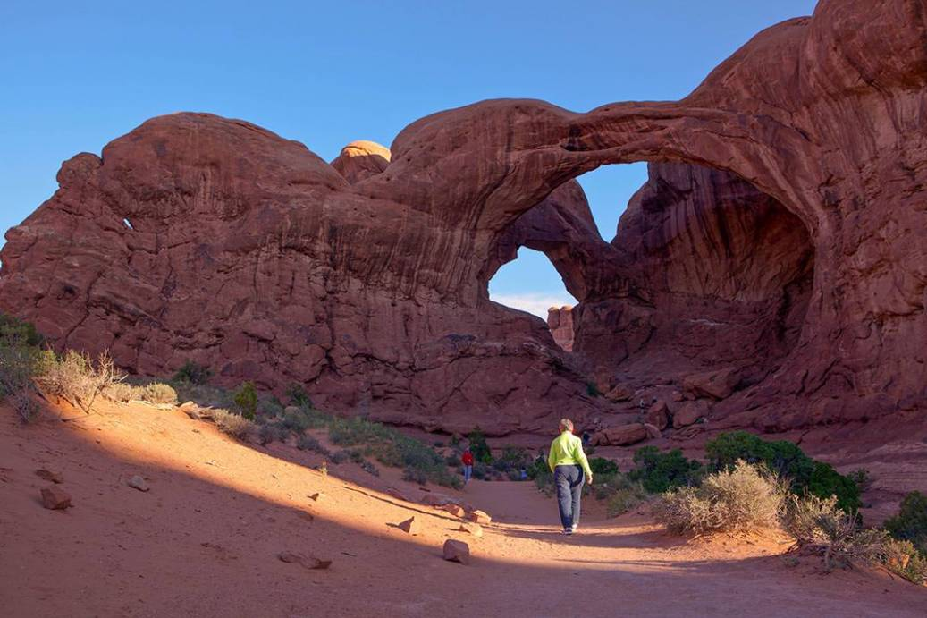 Arches National Park Double Arch