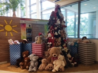 Goodwill Teddy Bear Tree at Golisano Childrens Hospital