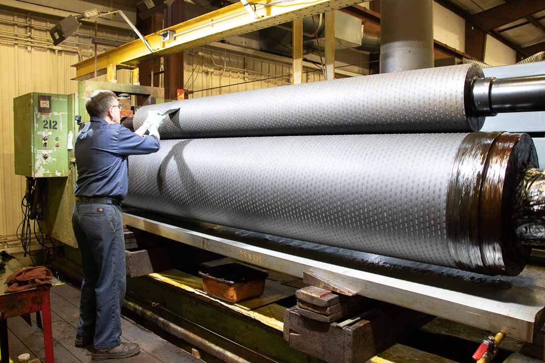 Industrial Engraving embossing roll manufacturer