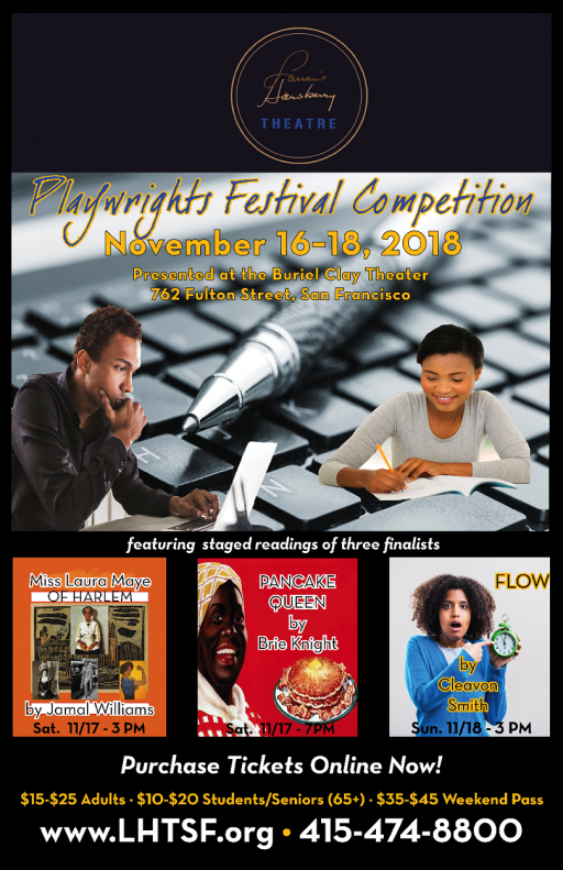 Lorraine Hansberry Theatre Playwrights Festival Competition Staged Readings