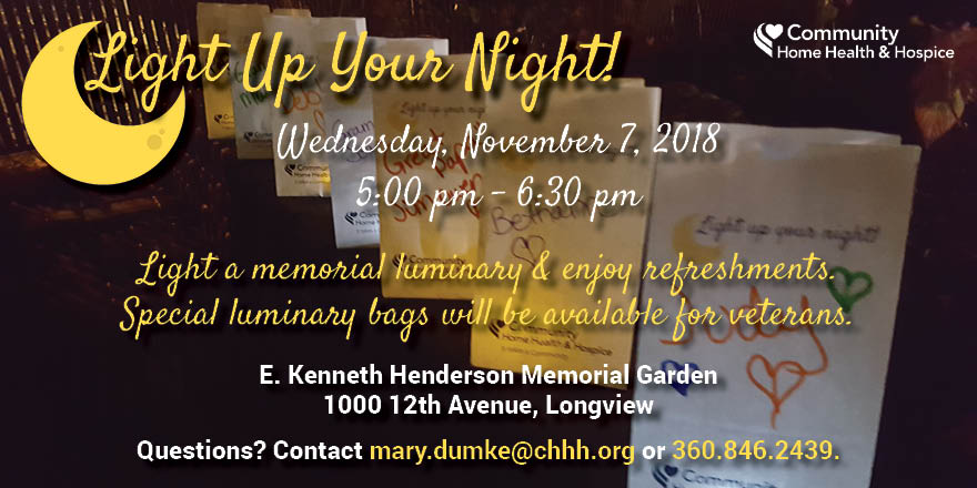 Join us for Light Up Your Night!