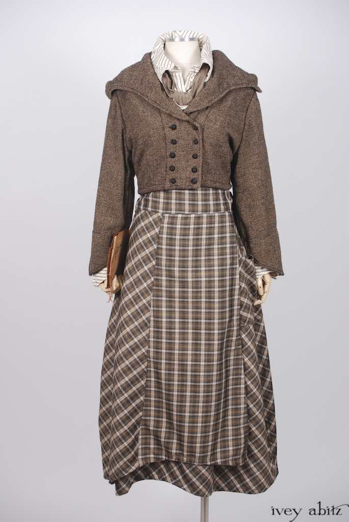One of 42 looks from the Ivey Abitz collection celebrating the minds of women.
