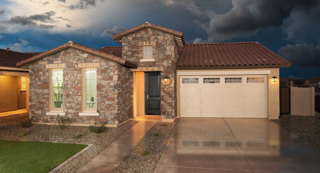 Three collections of new homes set in a highly amenitized neighborhood in Mesa