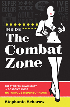 """Inside The Combat Zone"" book cover"