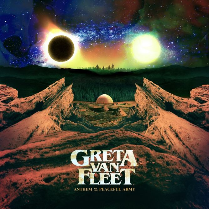Greta Van Fleet Cover Art