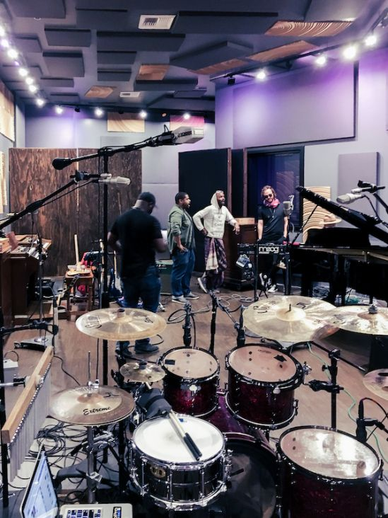 Full Band Live Tracking at Hybrid Studios