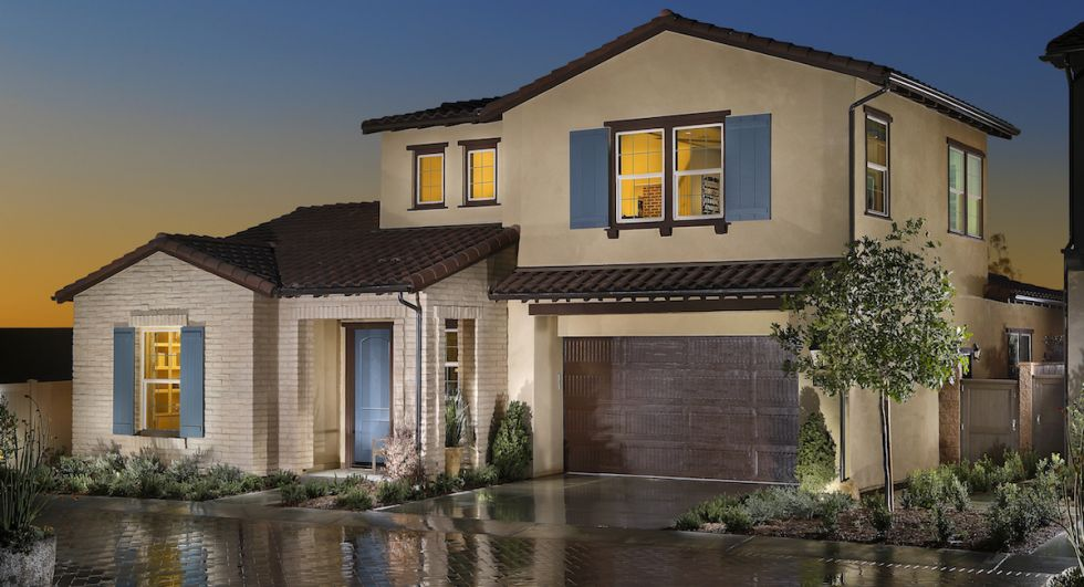 New 55+ homes in Irvine boasting open floorplans and first-floor master suites