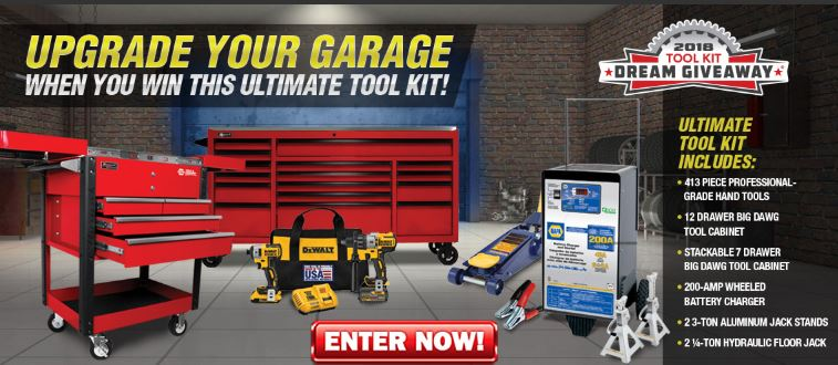 One lucky person will win all these tools!