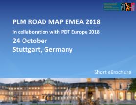 PLM Road Map EMEA and PDT Europe - 24-25 October Stuttgart, Germany