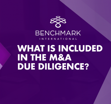 What is included in the MA due diligence-1