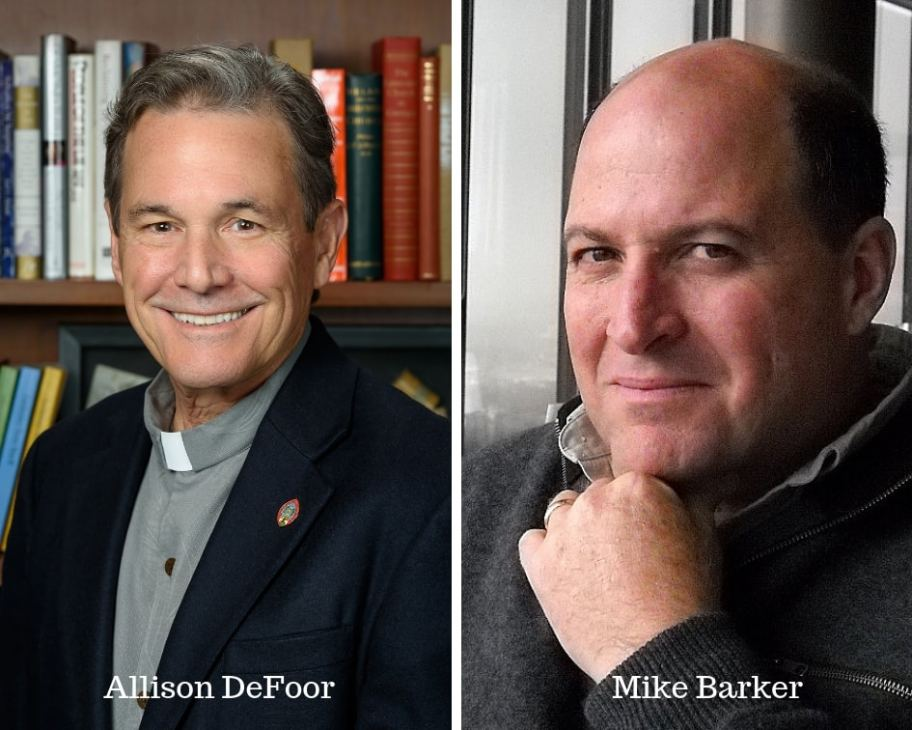 Allison DeFoor and Mike Barker