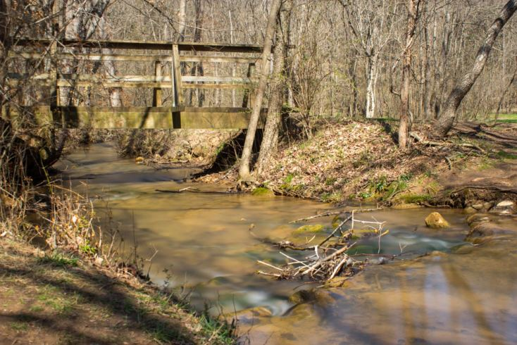 Panther Creek State Park in Morristown, Tennessee