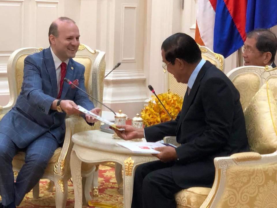Conseil Europeen du Tourisme et du Commerce et Cambodge:La Meilleure Destination