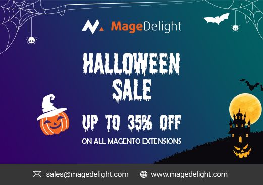 Halloween Sale 2018 on Magento Extension