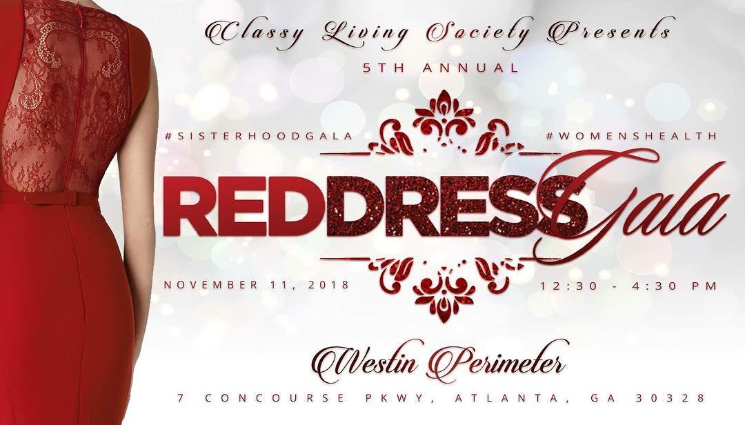 Classy Living Society: Red Dress Gala