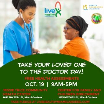 Live healthy miami gardens provides free health check ups - Doctors medical center miami gardens ...