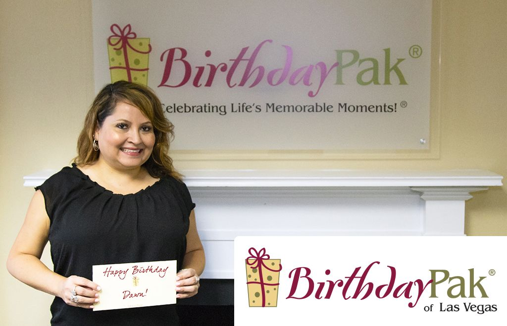 Dawn Zepeda, Owner of BirthdayPak of Las Vegas