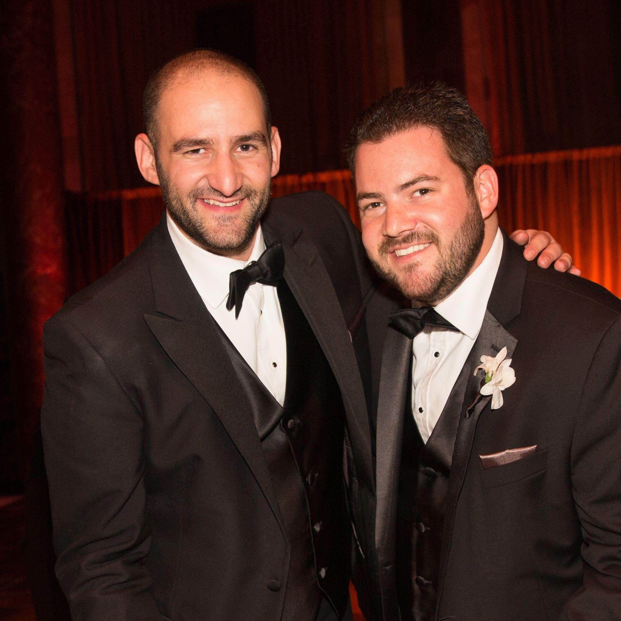 Brothers Adam and Josh Davis