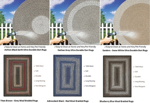 New Braided Rugs Products