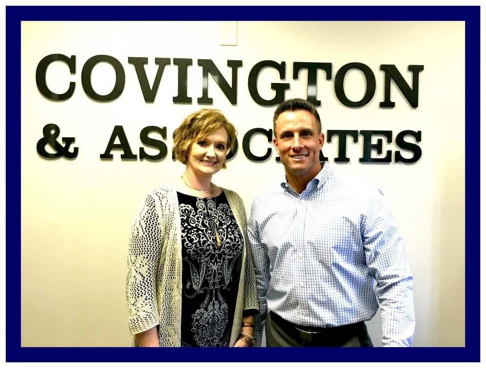 Rebecca Coates and Lawson Covington